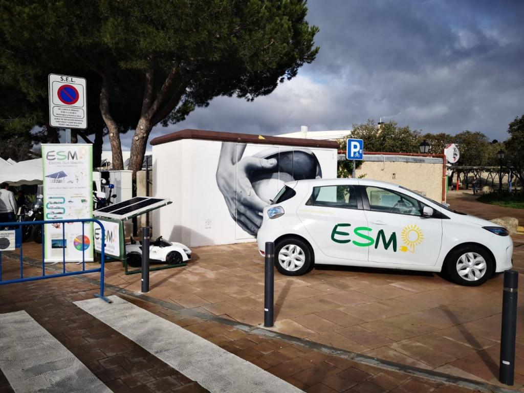 Electric Sun Mobility I Jornada de Movilidad Eléctrica de Torrelodones